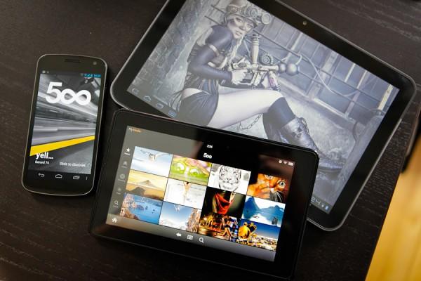 500px lanserar sin officiella applikation för Android