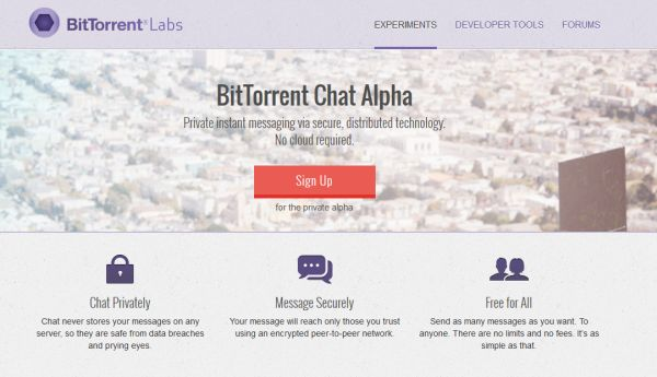 BitTorrent-chatt