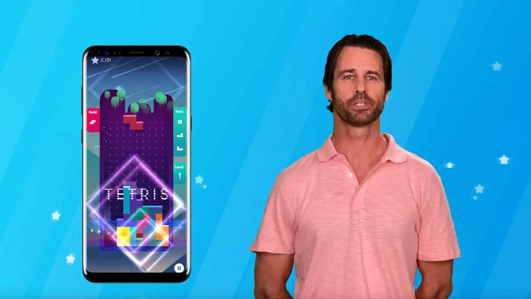 The classic Tetris is now a contest for your mobile in which you can win money
