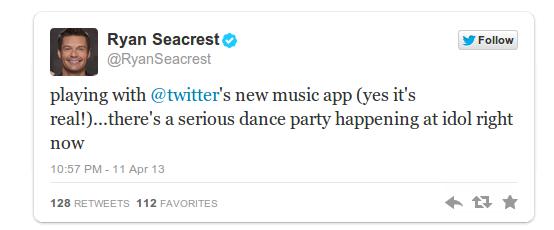 Den musikaliska tillämpningen av Twitter är verklig och vi kommer att se det de närmaste dagarna