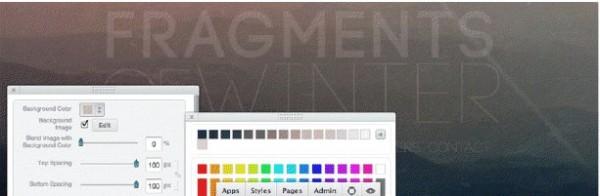 Designa en webbplats helt med online-appar