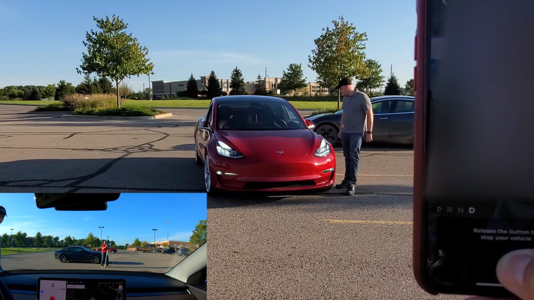 There are people who are trying to get their own Tesla to run over them