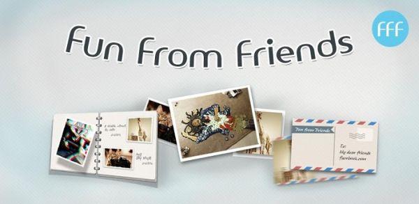 FFF (Fun From Friends) - visa bilder och videor på din Facebook-vägg lättare [Android]
