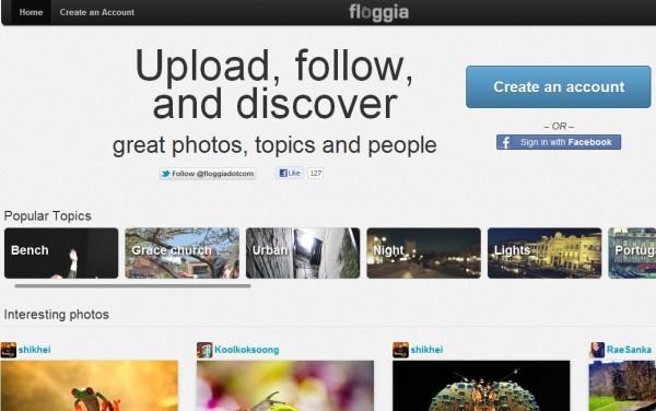 Floggia, nätverket av fotografer, integreras nu med medlemmarnas bloggar