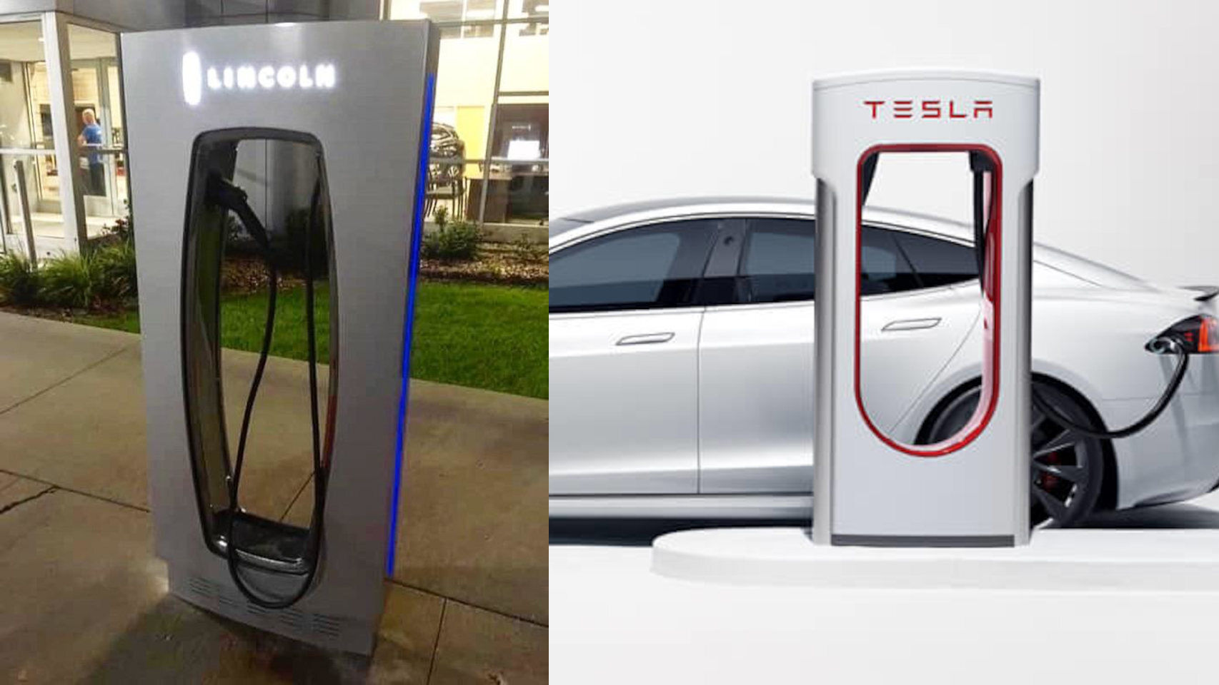 Ford launches its electric car charger … and is very similar to Tesla's