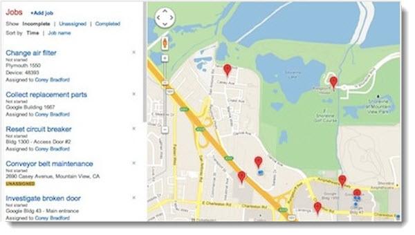 Google Maps Coordinate, för att organisera mobila arbetsgrupper