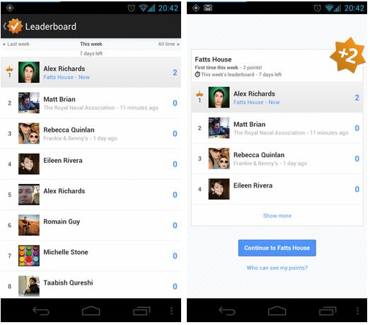 Google Maps' new Latitude Leaderboards could hit Google+