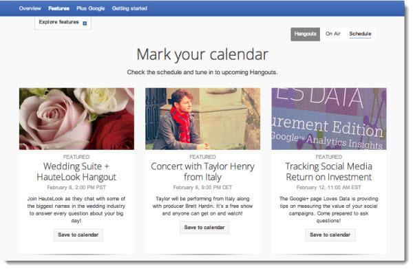 Google+ gör det enkelt att spåra de Hangouts som är intressanta för oss