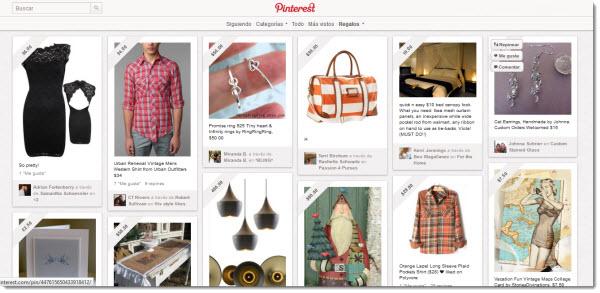 Hur man organiserar våra julköp med Pinterest