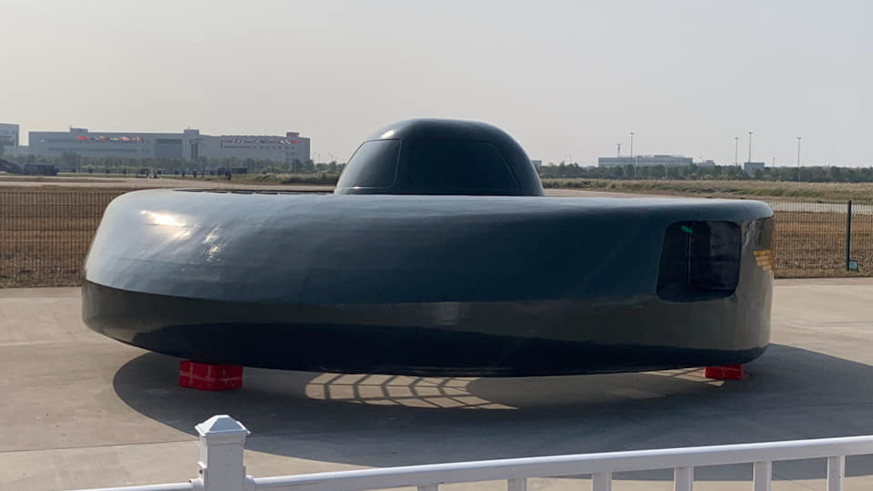 China creates a flying saucer that looks like something out of a 1950s movie