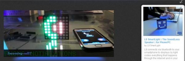 L8 Smartlight, ett intelligent ljus som ansluter till Internet