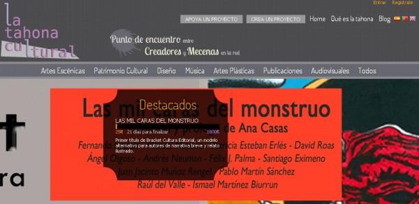 La Tahona Cultural, online-plattform för att finansiera kulturprojekt