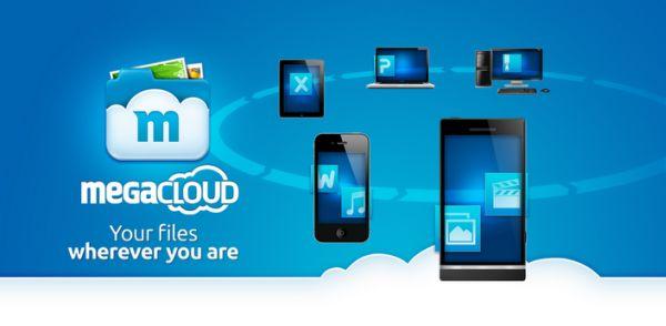 Megacloud - online-lagringstjänst som liknar Dropbox
