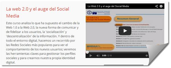 Curso sobre sociala medier