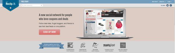 Reclipit - Pinterest av erbjudanden och rabattkuponger