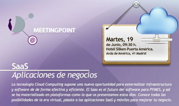 Saas och appar på #MeetingPointSaas