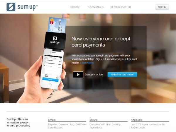 SumUp expands its mobile payment services to Italy, Spain and the Netherlands, reaching seven countries
