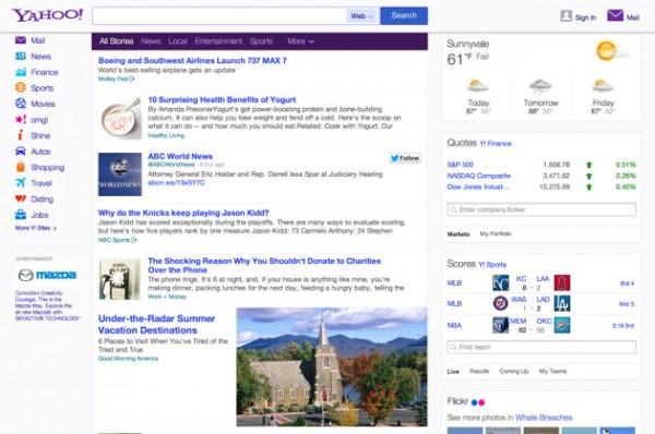 Yahoo samarbetar med Twitter för att få relevanta och personliga tweets till sin hemsida i USA