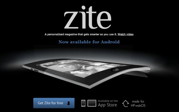Zite kommer till Android för att visa oss nyheterna på ett personligt sätt
