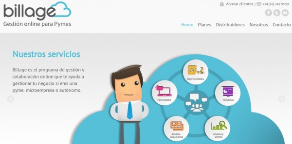 billage, online-hanteringsverktyg för små och medelstora företag och frilansare